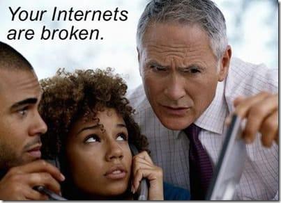 InternetBroken